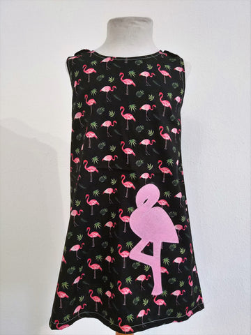 Kids Dress Flamingo