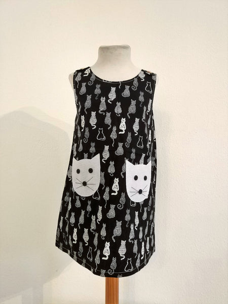 Kids Dress Cat Back