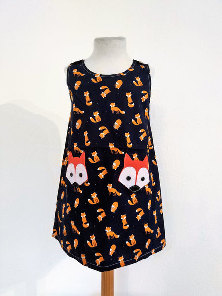 Kids Dress Fox