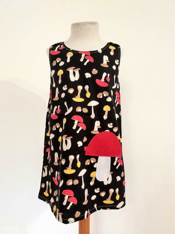Kids Dress Mushroom
