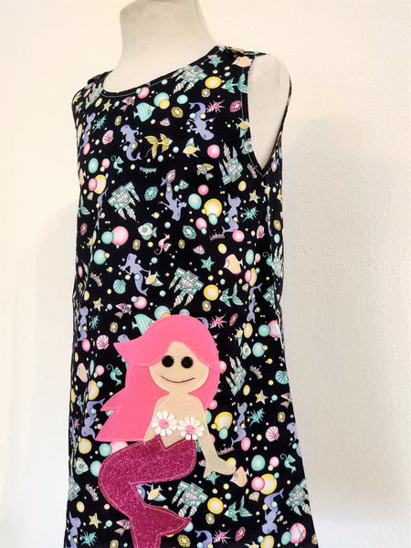 Kids Dress Mermaid