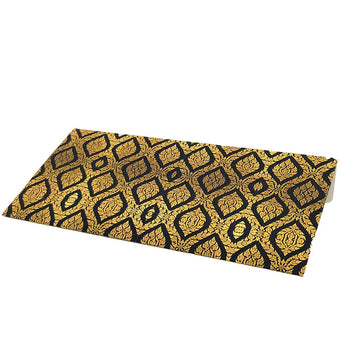 Black & Gold Motif Cash Envelopes - Set of 50