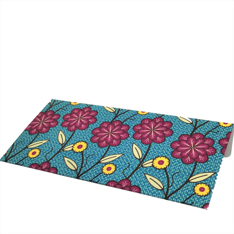 Green & Red Floral Cash Envelopes - Set of 50
