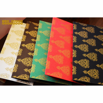 The Mughal Booti Cash Envelopes - Set of 50