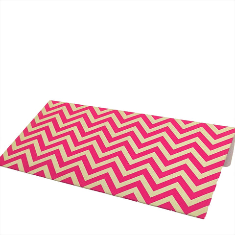 Pink Chevron Cash Envelopes - Set of 50