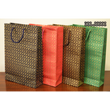 The Mughal Motif Carry Bags - Medium - Set of 12 bags