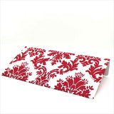 White & Red Motif Cash Envelopes - Set of 50