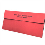Retro Cash Envelopes (Red) - Set of 50