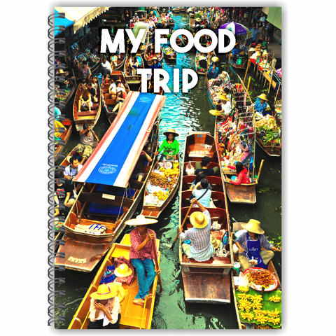 My Food Trip Diary (Blue)