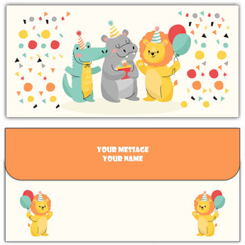 Cutie Cash Envelopes - Set of 50