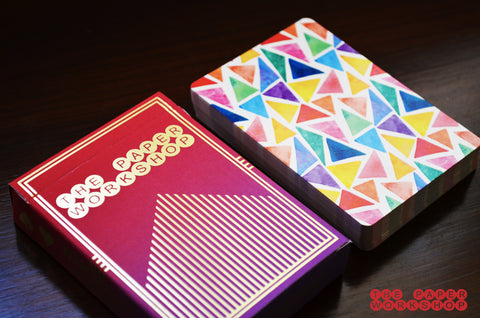 Color Pencil - Playing Cards