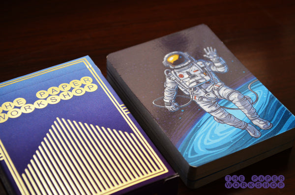 Space Man - Playing Cards