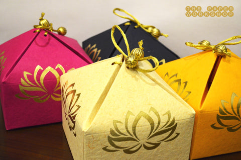 The Lotus of Love Gift Box - Set of 10 boxes
