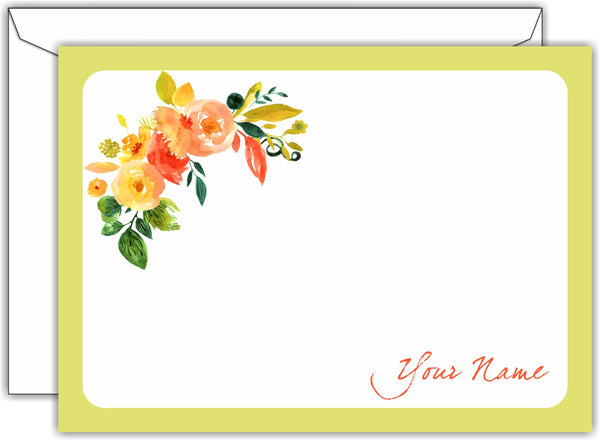Flat Notecards - Set of 50