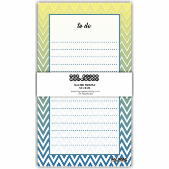 Chevron To Do List Tear-Off Notepad
