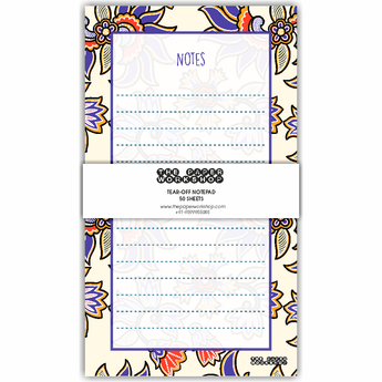 Ethnic Tear-Off Notepad