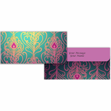 Mauve Motif Cash Envelopes - Set of 50