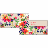 Multi Color Floral Cash Envelopes - Set of 50