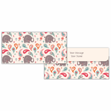 Baby Elephant Cash Envelopes - Set of 50