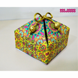 Ethnic Green Gift Box - Set of 10 boxes