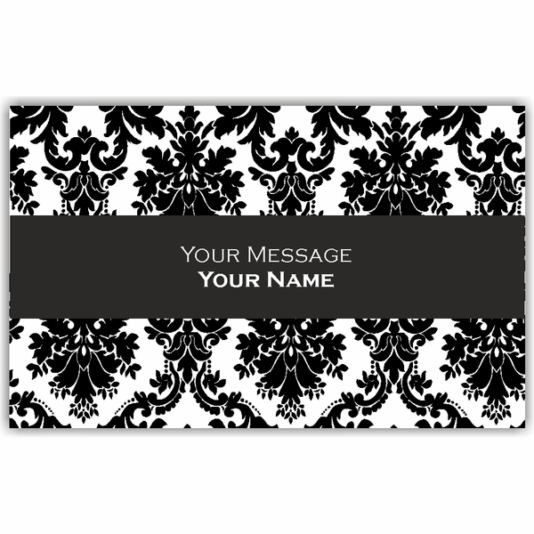 Black & White Motif Gift Tags - Set of 100