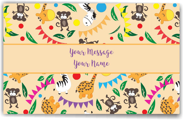 Baby Animals Gift Tags - Set of 100