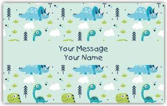 Little Dino Gift Tags - Set of 100