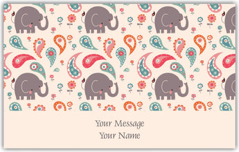 Baby Elephant Gift Tags - Set of 100