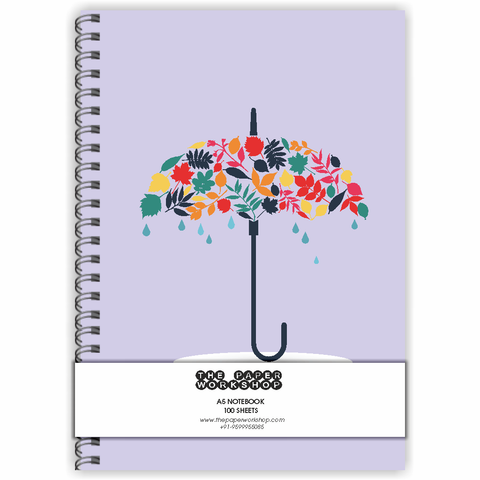 Umbrella A5 Notebook