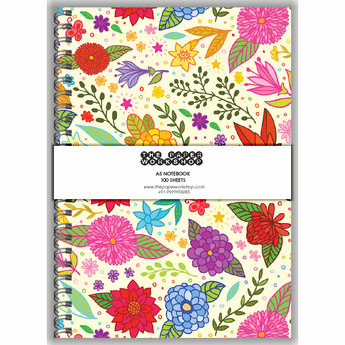 Lovely Floral A5 Notebook