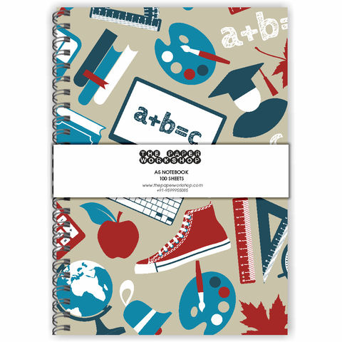 Back to School A5 Notebook
