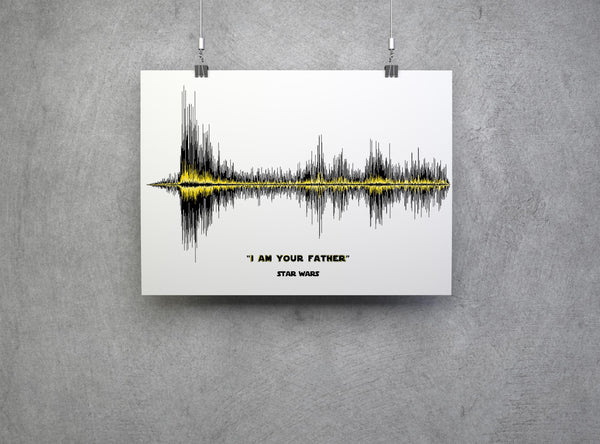 I am your father Soundwave Art Star Wars Poster