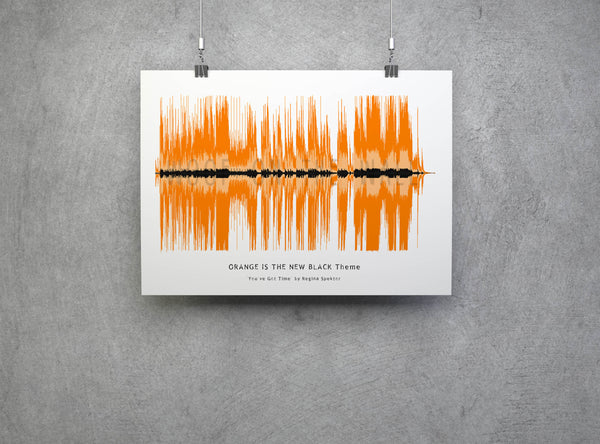 Orange is the new black Theme Tune as art!