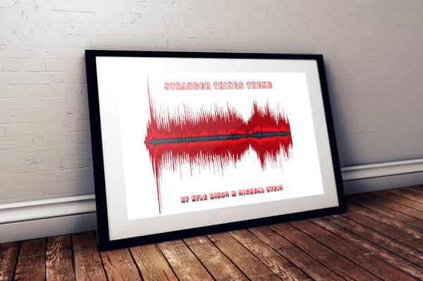 Stranger Things Soundwave Artwork