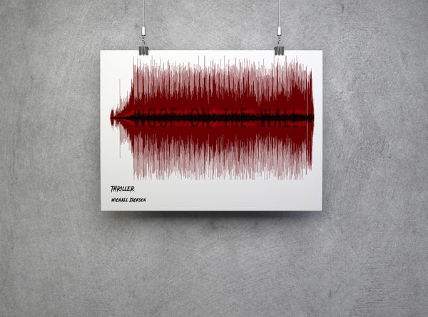 Thriller Soundwave Artwork