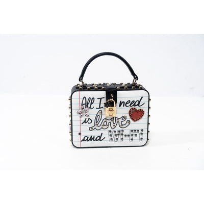 All I need is love and wi-fi handbag Handbags Fearless Accessories