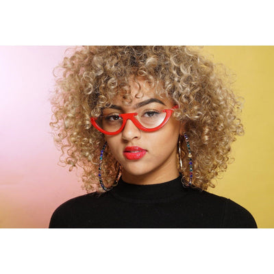 Bria Half Frame Sunglasses (2 Colors) Sunglasses Fearless Accessories Red