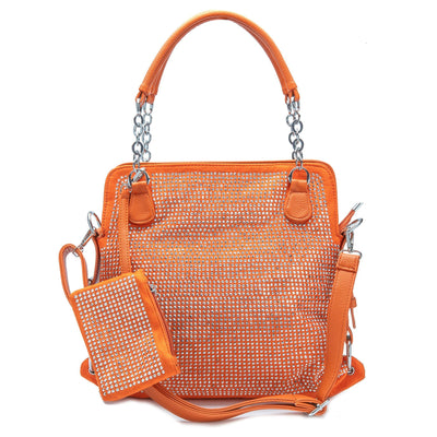 Can't Stop Won't Stop Rhinestone Bag (3 Colors) Handbags Fearless Accessories Orange
