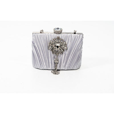 Cyndi satin evening bag