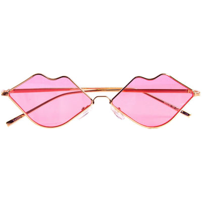 Lip service sunglasses