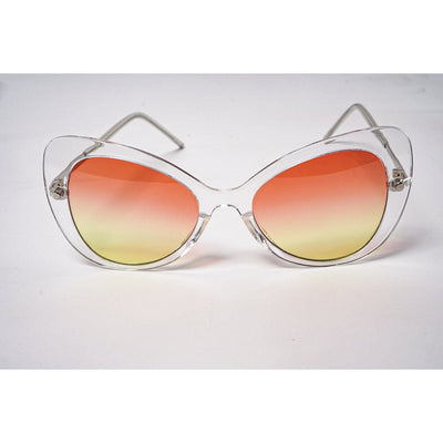 Mariah Clear Frame Sunglasses