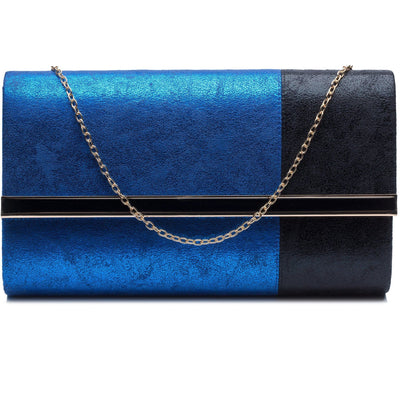 Aja blue and black shimmery bag