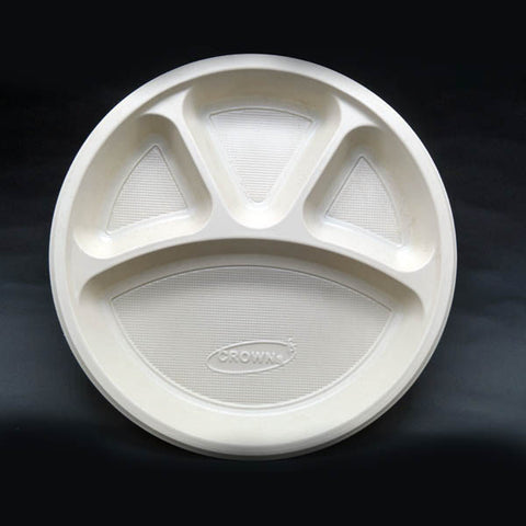 4CP Crown Plate - 500pcs. & Shop disposable packaging for Restaurants - Packooz | India u2013 Tagged ...