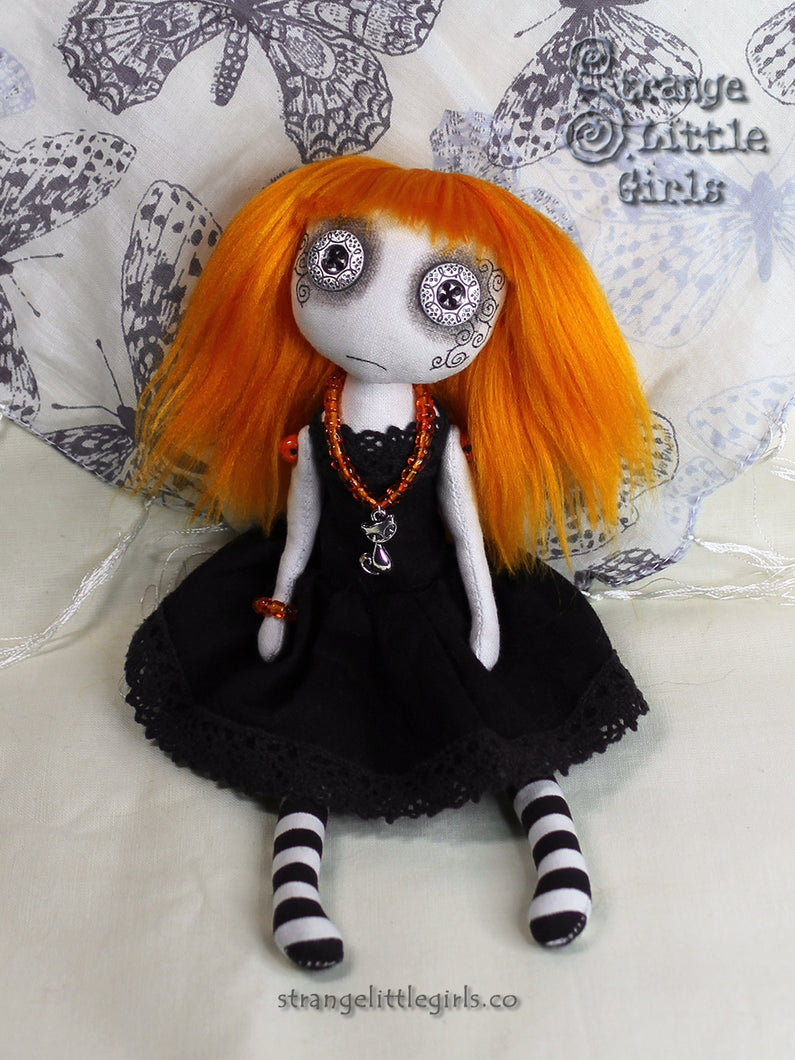 Earthlings - Eco friendly art doll - Bindi Sageburn