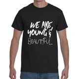 FONT STUFF - Young and Beautiful - Black