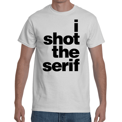 FONT STUFF - I shot the serif