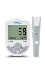 Bluetooth 4.0 Blood Glucose / Cholesterol Meter 智能藍牙血糖/膽固醇檢測機