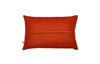 sea front cushion no.1 orange back