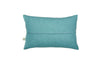 sea green ripple cushion no.2 blue back