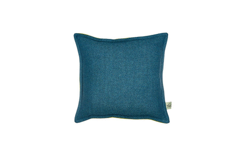 trilogy square cushion in 'peace'